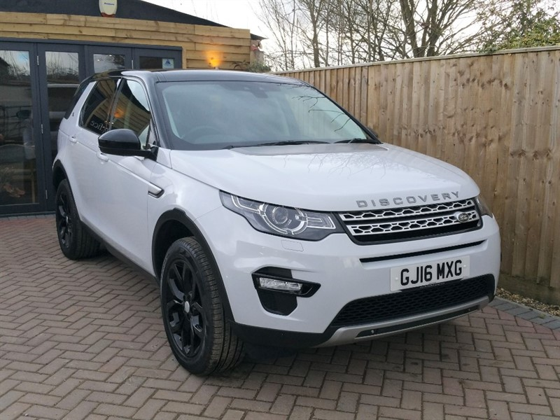 used Land Rover Discovery Sport TD4 HSE in shrivenham