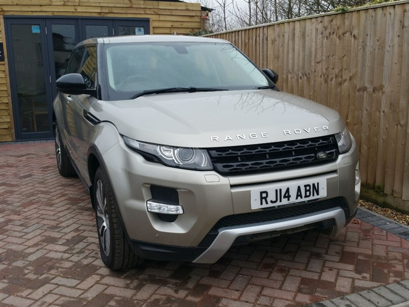 used Land Rover Range Rover Evoque SD4 DYNAMIC in shrivenham