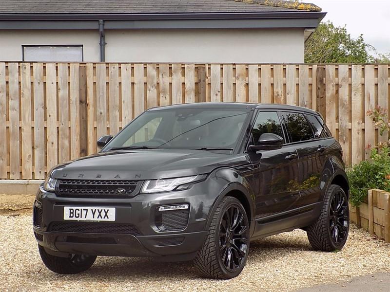 used Land Rover Range Rover Evoque TD4 SE TECH in shrivenham
