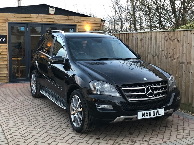 used Mercedes ML300 CDI BLUEEFFICIENCY GRAND EDITION in shrivenham