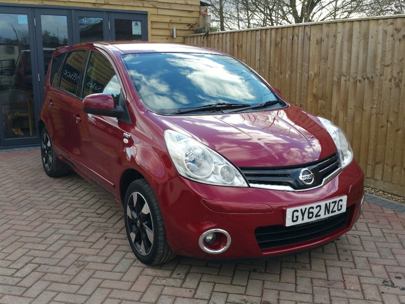 used Nissan Note N-TEC PLUS in shrivenham