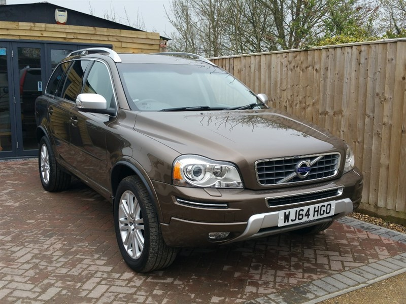 used Volvo XC90 D5 EXECUTIVE AWD in shrivenham