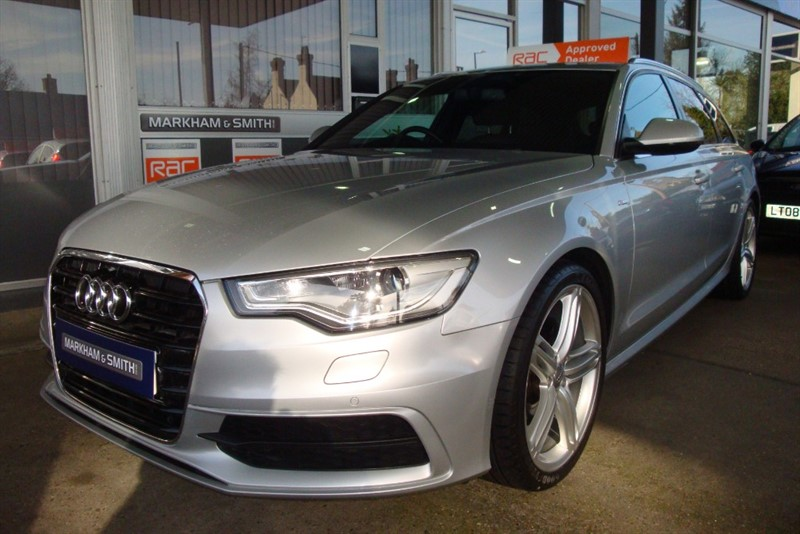 used Audi A6 Avant AVANT TDI S LINE 2.0 (177 PS) Multitronic  FASH  2 OWNER CAR in witham-essex