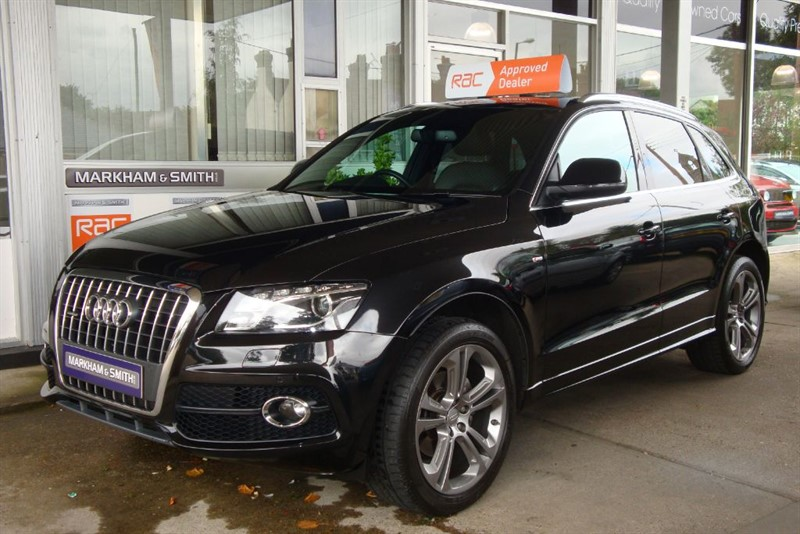 used Audi Q5 TDI QUATTRO S LINE SPECIAL EDITION 170 bhp Model  NAV+PAN-ROOF+E/TAILGATE+ in witham-essex
