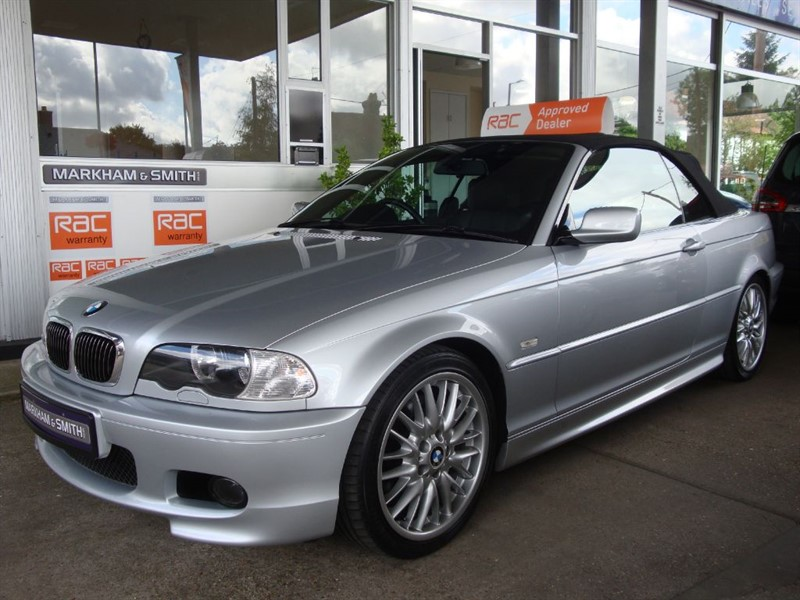 used BMW 330 CI SPORT CONVERTIBLE AUTO  in witham-essex