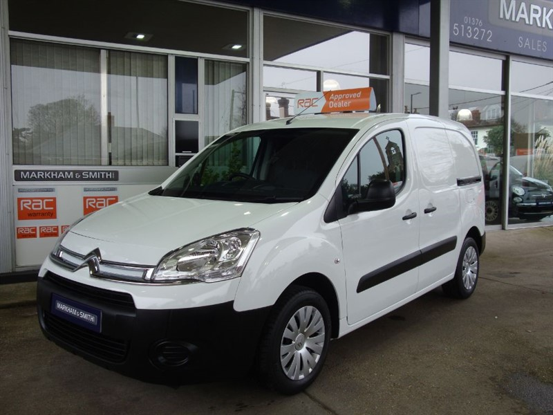 used Citroen Berlingo 625 ENTERPRISE L1 HDI  Only 16,199 Miles from new + One Private Owner  in witham-essex