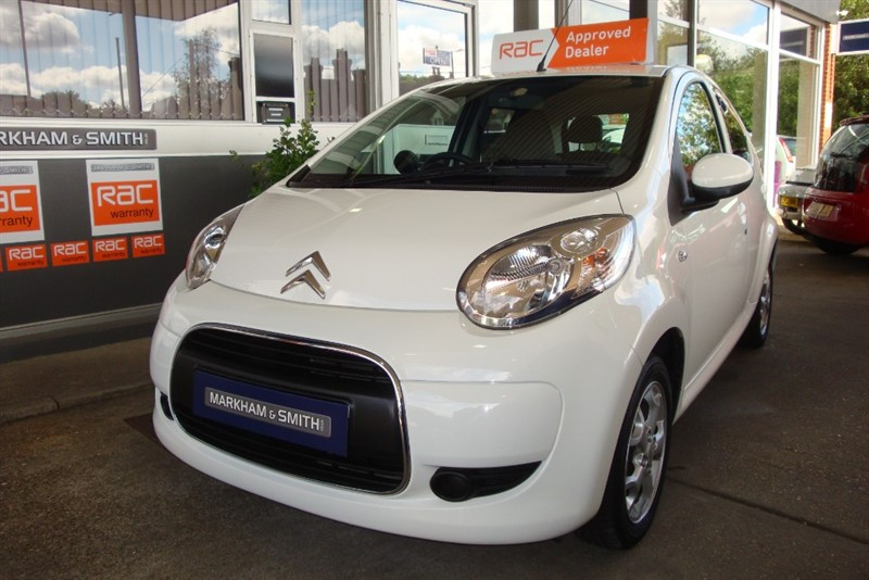 used Citroen C1 VTR PLUS 5dr White 44,724 +FSH 5 Stamps + Just Serviced in witham-essex