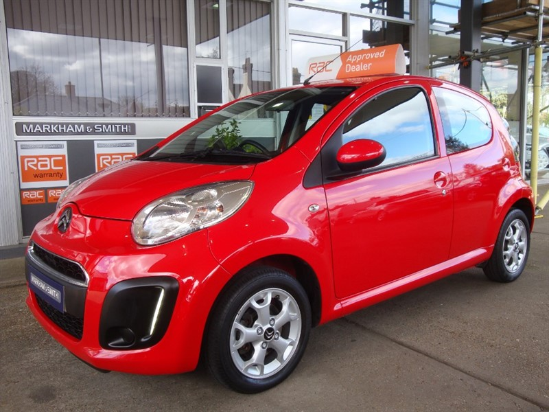 used Citroen C1 EDITION 2 Owners + 49,036 From New  + Just Serviced  4 Stamps 3 Which Are Citroen Main Agent in witham-essex