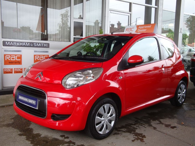 used Citroen C1 VTR PLUS 56,172 FSH  7 SERVICE STAMPS PLUS JUST SERVICED NEW CLUTCH VVGC in witham-essex
