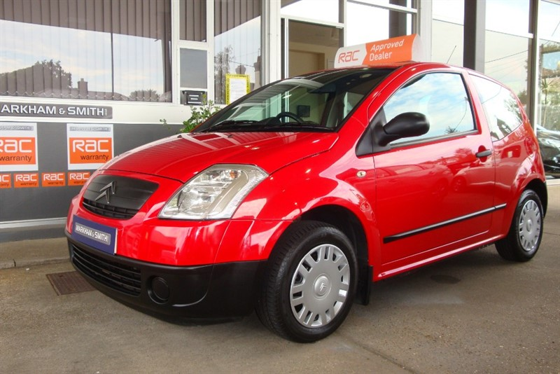 used Citroen C2 L Finished in Bright Red  79,101 Full Service History 9 Stamps + Just had Service in witham-essex