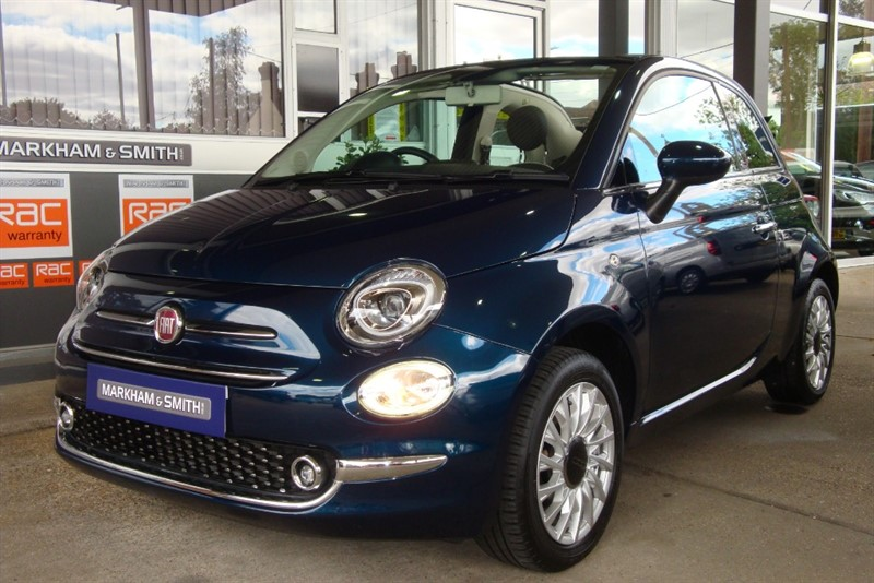 used Fiat 500 C LOUNGE Just Had 1st Service From Fiat Main Dealer Glyn Hopkins (Ipswich) 10,365  13/06/20 in witham-essex