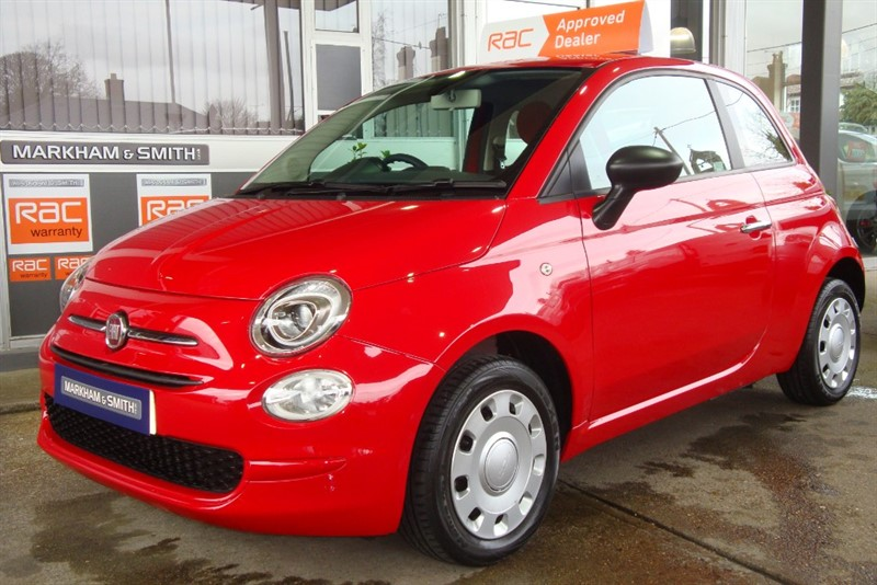 used Fiat 500 POP One Lady Owner Just 15,865 + Full Fiat Main Dealer Service History (Yeomans Fiat) Eastbourne) ) in witham-essex