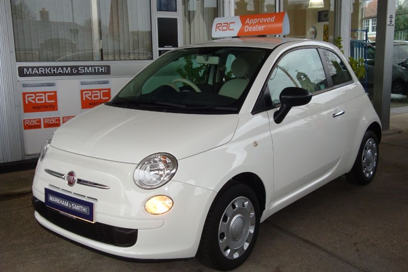 used Fiat 500 POP Low Mileage 19,370  2 owner car Full Service History ,Bluetooth fitted  in witham-essex