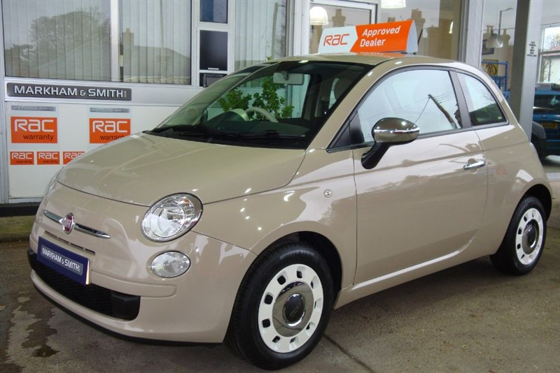 used Fiat 500 COLOUR THERAPY Finished in Beige Buff ,2 owners 23,911 Full Service History in witham-essex