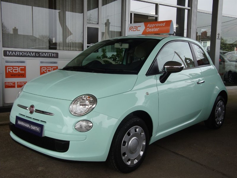 used Fiat 500 POP  (Smooth Mint)  1 lady owner Full Service History 35,247 From New  in witham-essex