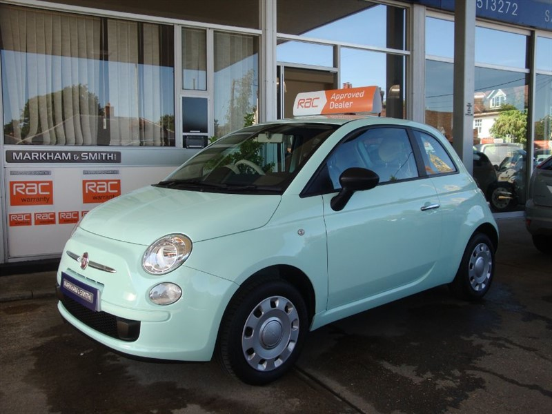 used Fiat 500 POP One Miss..... From New Low Mileage 23,467 with FSH 4 Stamps in witham-essex