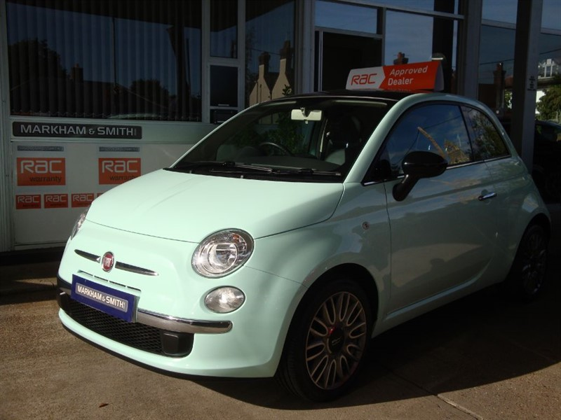 used Fiat 500 CULT One Miss....... from new  24,820 Full Service History 5 Stamps  VVGC in witham-essex