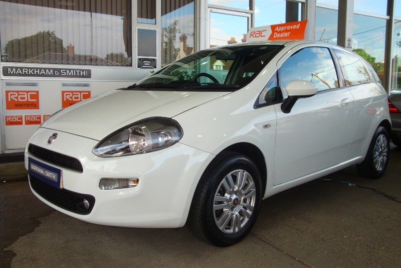 used Fiat Punto EASY 3dr  + 2 Owners + 54,207 in witham-essex