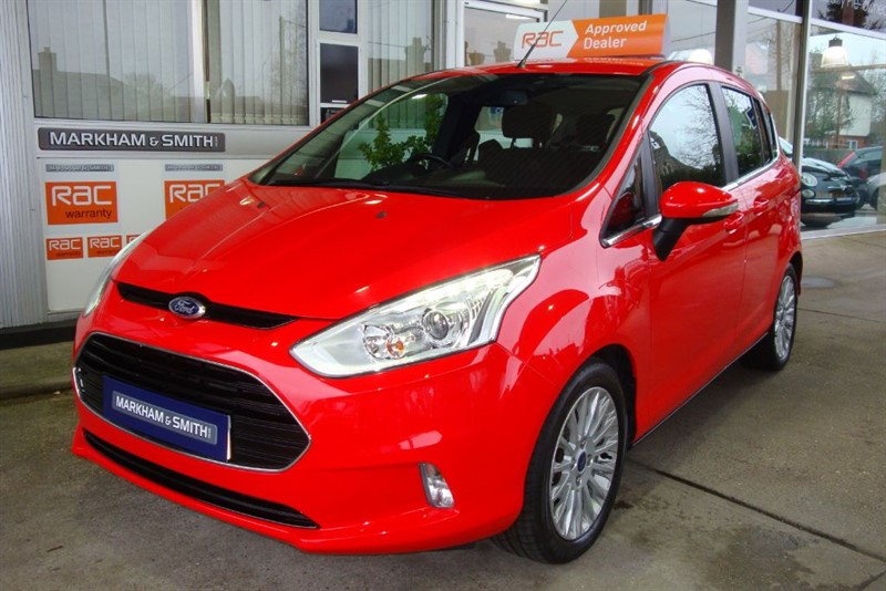 used Ford B-Max TITANIUM 1.6 petrol Automatic  45,124  2 owner car from new +++ Race Red ++ in witham-essex