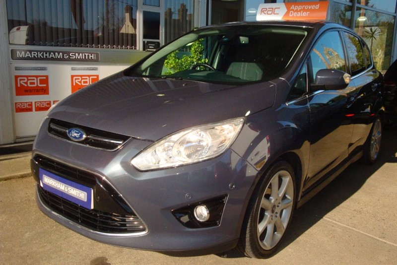 used Ford C-Max TITANIUM 1.6 PETROL 62,837 FROM NEW +  FSH FORD MAIN DEALER in witham-essex