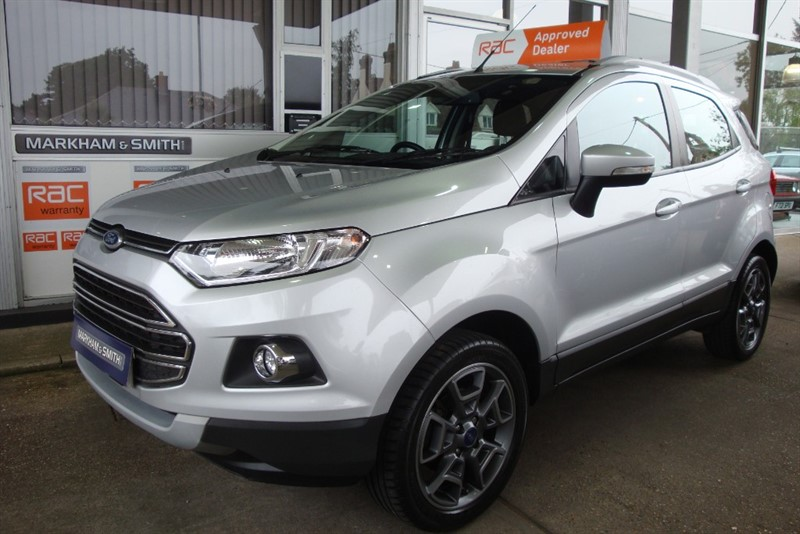used Ford EcoSport TITANIUM TDCI Full Ford Service History 4 Stamps (Gates of Harlow) in witham-essex