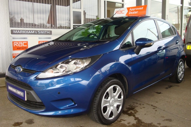 used Ford Fiesta STYLE PLUS 80  JUST 34,066 MILES FROM NEW in witham-essex