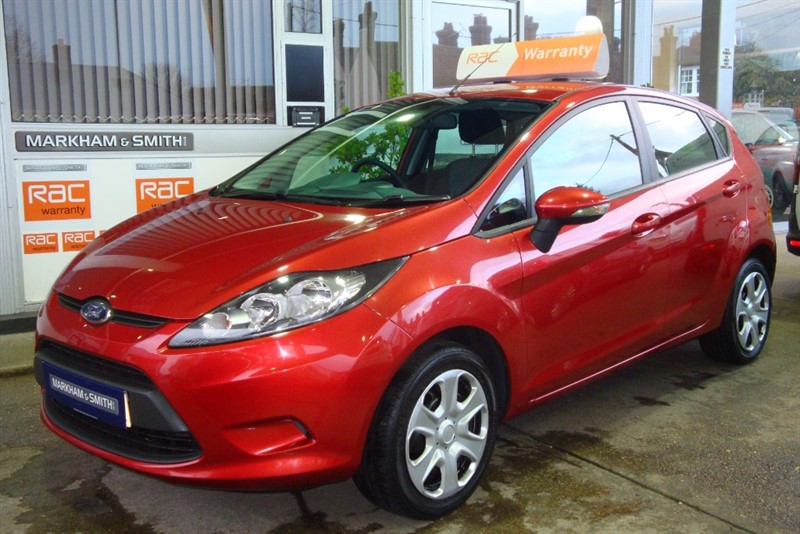 used Ford Fiesta STYLE PLUS 1.4 5DR + 69,136 in witham-essex