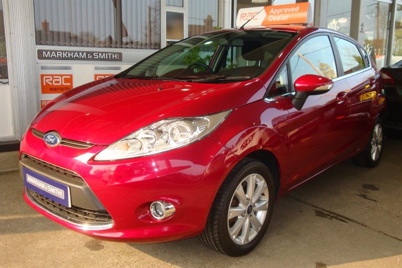 used Ford Fiesta ZETEC 2 OWNERS +  63,869 in witham-essex