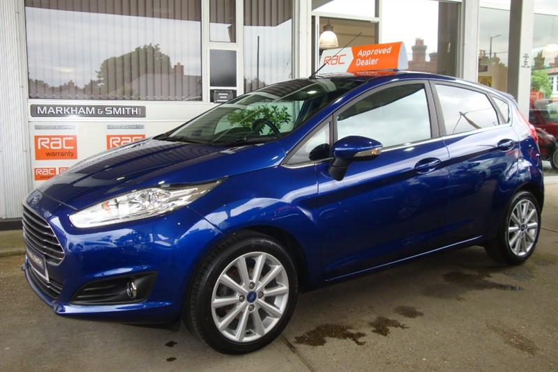 used Ford Fiesta TITANIUM ECO BOOST 1.0 Zero Road Tax , 1 Owner,  FFSH 3 Stamps ,Top Spec with Keyless Entry in witham-essex