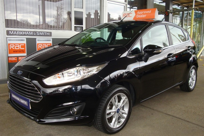 used Ford Fiesta ZETEC TDCI   Zero road tax model + Full Ford Main Dealer Service History  3 Stamps in witham-essex