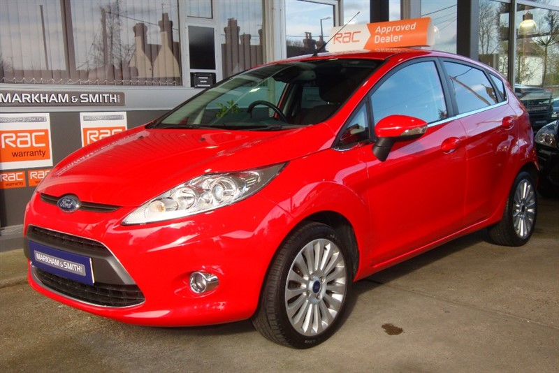 used Ford Fiesta TITANIUM 96 2 owners ,Full Ford Main Dealer Service History 11 Stamps (10 Ford) 1 independent in witham-essex