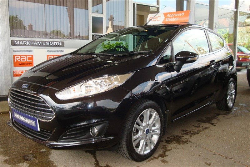 used Ford Fiesta ZETEC TDCI   Zero road tax model + Full Ford Main Dealer Service History  6 Stamps in witham-essex
