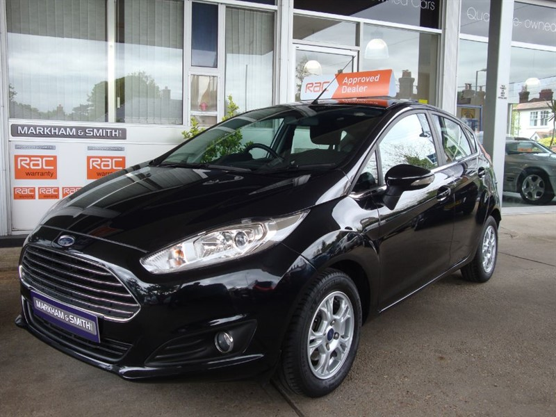 used Ford Fiesta ZETEC ECONETIC TDCI (ZERO ROAD TAX MODEL) 49,493 ONE OWNER VEHICLE FSH FORD in witham-essex