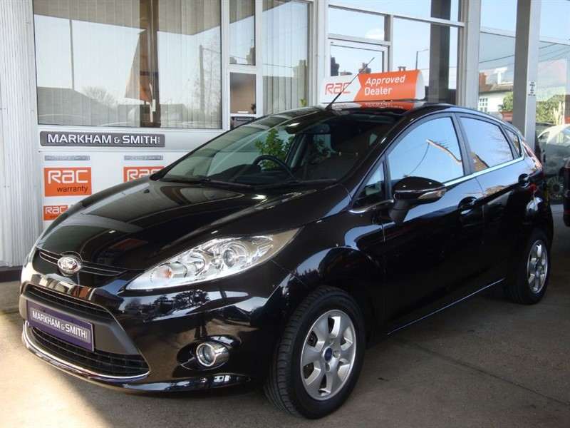 used Ford Fiesta TITANIUM ECONETIC TDCI +++ Zero Road Tax Model +++74,994 2 owners S/History in witham-essex
