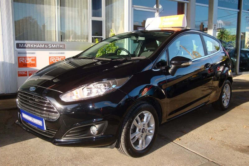 used Ford Fiesta ZETEC 1.25 3DR Panther Black Great low Mileage 18,531 ++++ 2 Owner Car ++++ in witham-essex