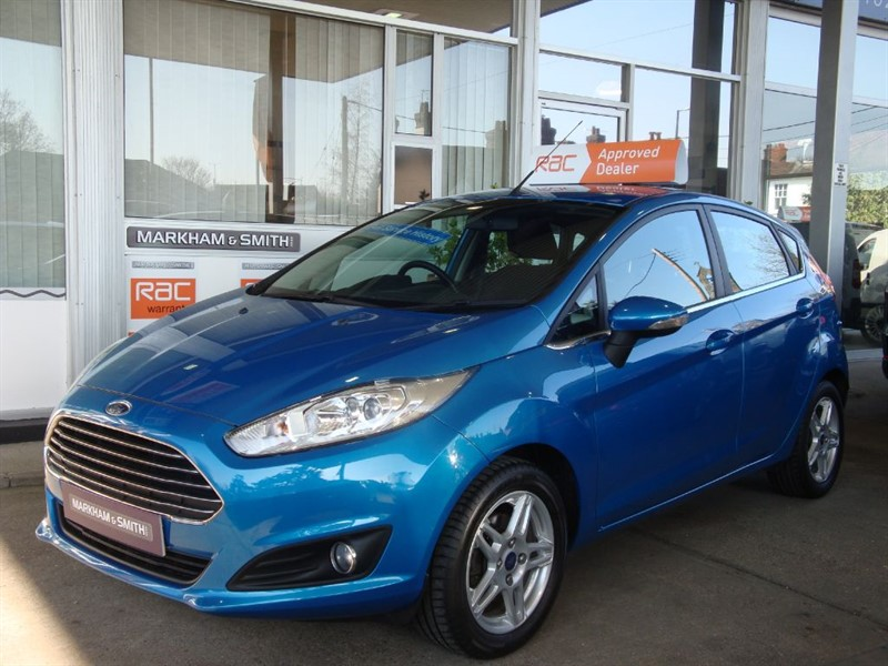used Ford Fiesta ZETEC Zero rfl + 45,158 + One Lady Owner Car + Full Ford Service History  in witham-essex