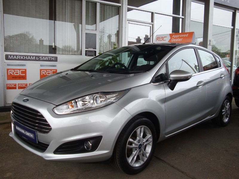 used Ford Fiesta ZETEC 2 Lady Owners Full Ford Main Dealer Service History 4 Stamps  in witham-essex