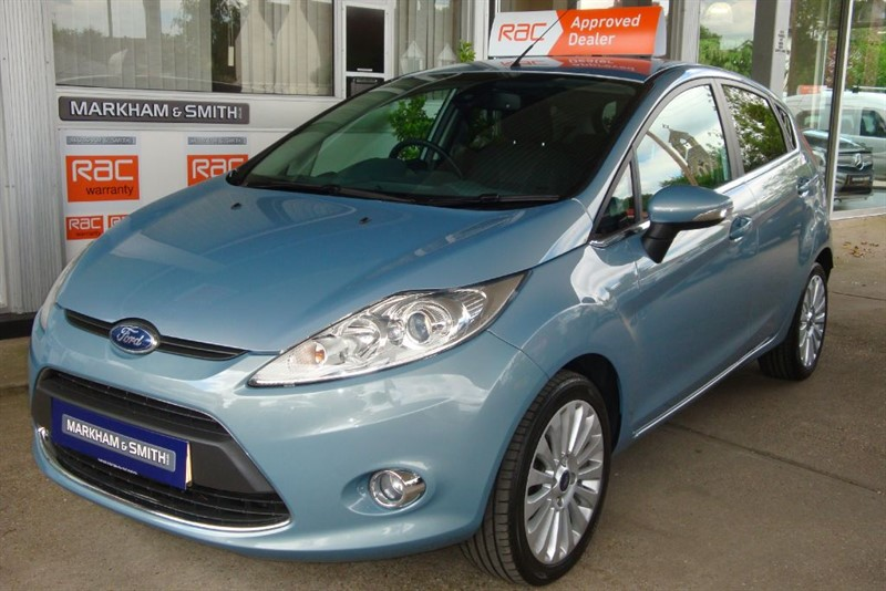 used Ford Fiesta TITANIUM 2 owners  57,382 Full Ford Service History 8 Stamps + 1 Markham in witham-essex