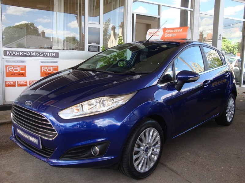 used Ford Fiesta TITANIUM  21,565 One Owner Car FFSH  3 Service Stamps Plus Just Serviced in witham-essex