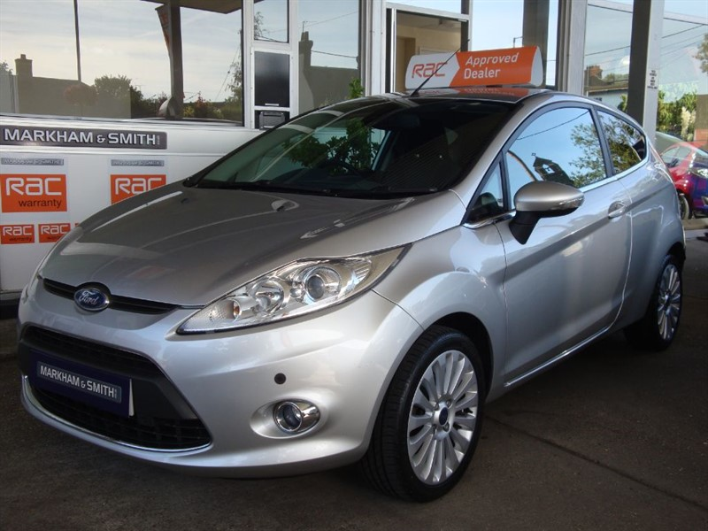used Ford Fiesta TITANIUM 120 3dr 2 Owners  FSH 8 stamps just serviced low mileage example  in witham-essex