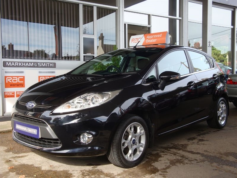 used Ford Fiesta ZETEC Super Low Mileage 33,285 Panther Black 1.25 Zetec FFSH 7 Stamps vvgc in witham-essex