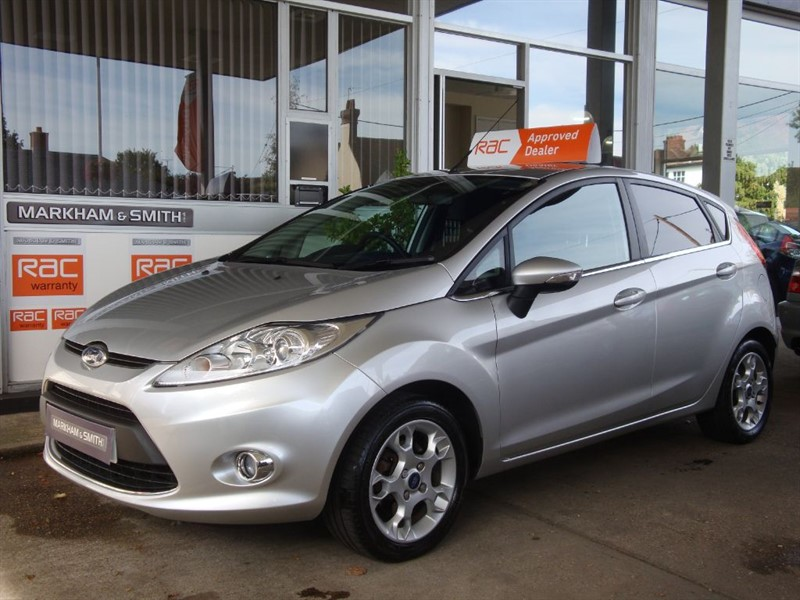 used Ford Fiesta ZETEC 1.25 5dr 59,666 2 Owner Car in witham-essex