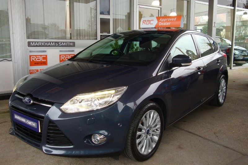 used Ford Focus TITANIUM X 125PS Midnight Sky  51,993  One Owner FSH  (BT Service history)  in witham-essex