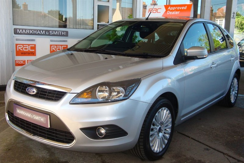 used Ford Focus TITANIUM 5dr 1.8 FSH 6 STAMPS PLUS INVOICES JUST SERVICED AT 59,526 VVGC in witham-essex