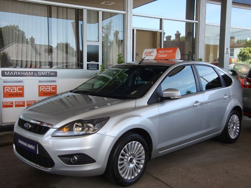 used Ford Focus TITANIUM 1.8  (125) 5dr 74,616 2 Owner Car FSH 7 Stamps  + Just Serviced in witham-essex