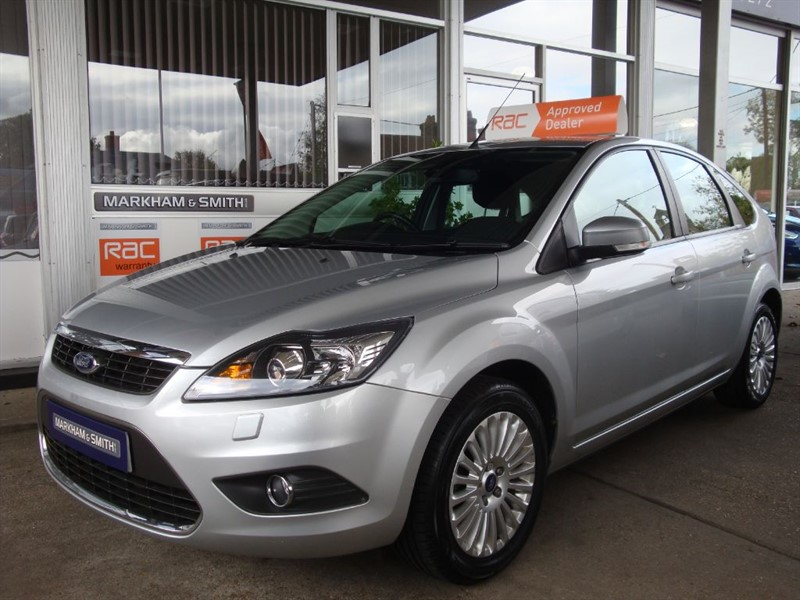 used Ford Focus TITANIUM 2 owners FSH 9 Service Stamps +Just Serviced at 75,231 in witham-essex