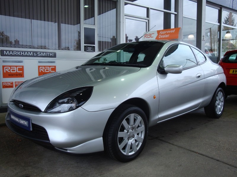 used Ford Puma 1.7  16V  Super Low mileage just 26,877  + 16 service stamps from Ford main agent in witham-essex