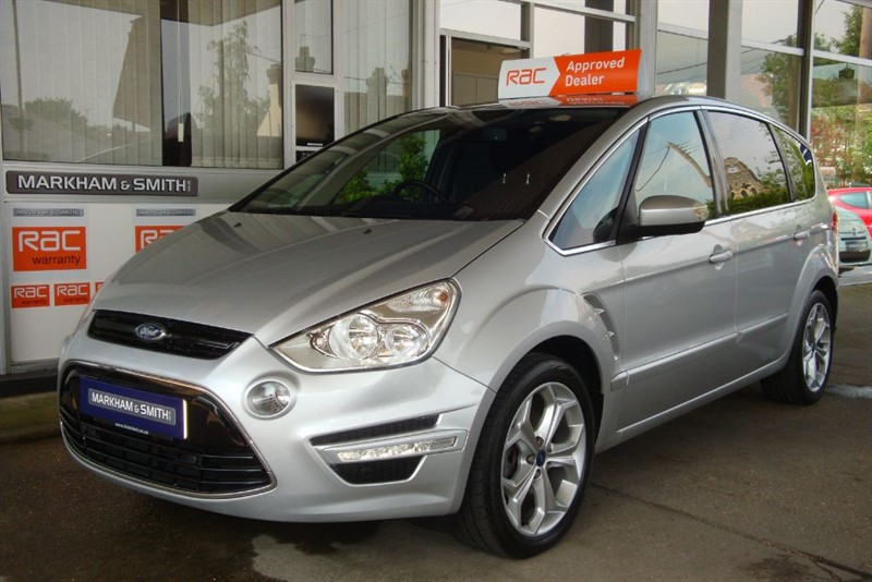 used Ford S-Max Titanium 2.0 Tdci (163) 7 seats low mileage 59,058 With Full Ford S/HISTORY in witham-essex