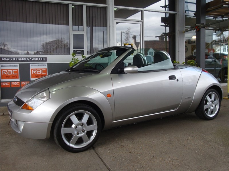 used Ford Streetka 8V LUXURY  Nov 2020 MOT Cheap Convertible For The Spring ++++++++ 64,287 From New in witham-essex