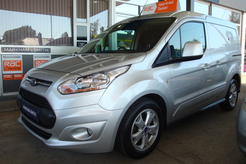 used Ford Transit Connect 200 LIMITED P/V  FSH (Gates Ford Harlow)  5 Stamps + Top Spec With Ford Sat-Nav + Reverse Camera in witham-essex